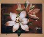 Lilie-acryl