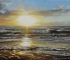 Sonnenuntergang-am-Meer
