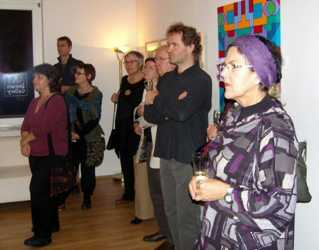 Vernissage am 14.11.2008