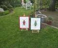 Ateliergarten - Werke von Britta Haffke