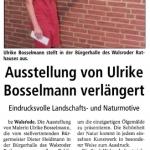 Ausstellung Bürgerhalle Walsrode 2013