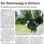 Künstlertag in Ehrhorn 2010