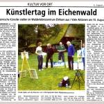 Künstlertag in Ehrhorn 2008