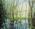 """""""Im Moor"""" Öl, 30 x 40 cm (2011) - verkauft -"""