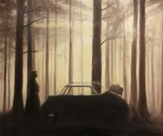 """""""Die Reise"""" Öl, 50 x 60 cm"""