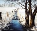 """""""Mehlandsbach im Winter"""""""